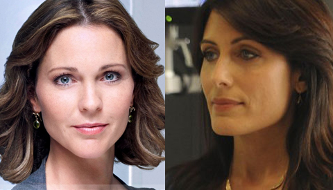 Dr. Gillian Foster and Dr. Lisa Cuddy